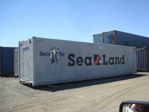 40 ft sealand non operational refrigerated containers