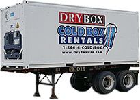 20 Ft Refrigerated Cargo Container For Rent