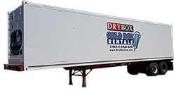 40 Ft Portable Cold Storage Container